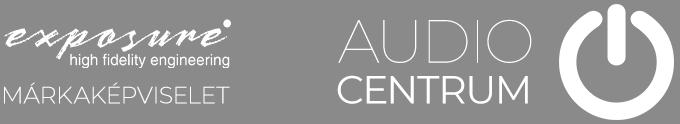 Az Exposure hivatalos magyarországi márkaképviselete az Audio Centrum