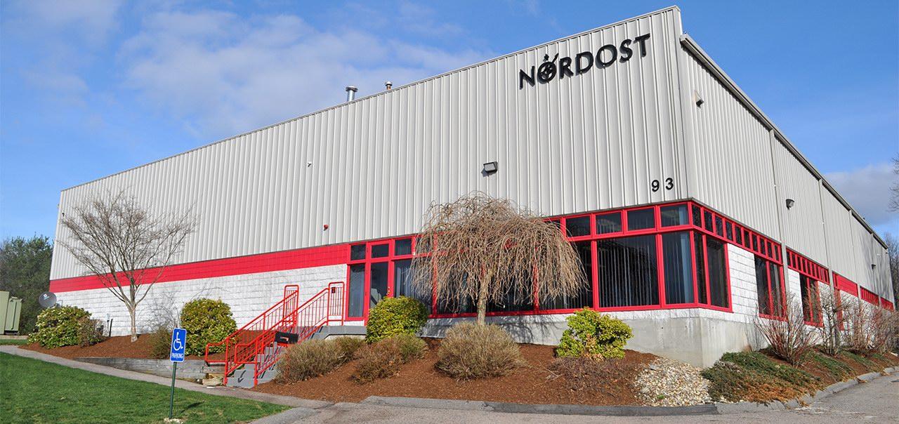 Nordost gyár és irodaház Massachusetts