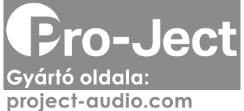 Pro-Ject Audio gyártói oldal